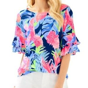 Lilly Pulitzer Lula Top size M